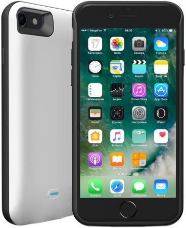 Чехол-аккумулятор Deppa NRG Case 2600 mAh для iPhone 7 белый 33520
