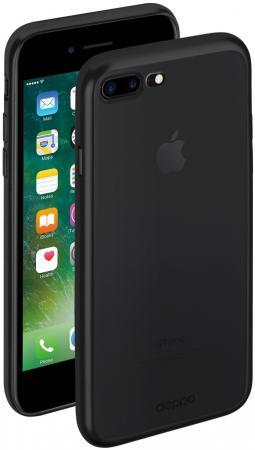 Накладка Deppa Gel Plus Case для iPhone 7 Plus матовый чёрный 85286 чехол аккумулятор deppa nrg case 2600 mah для iphone 7 белый 33520