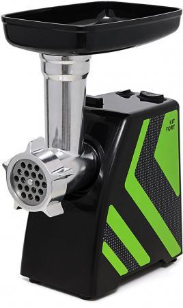 Электромясорубка KITFORT KT-2101-2 1500 Вт зеленый чёрный мясорубка кт 2101 2 зеленый kitfort