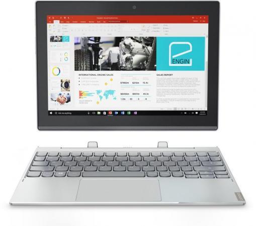 Планшет Lenovo MiiX 320-10ICR 10.1 64Gb серебристый Wi-Fi Bluetooth 3G 4G Windows 80XF007VRK lenovo miix цельнометаллический стилус bluetooth