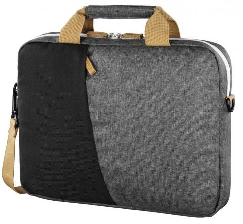 Сумка для ноутбука 15.6 HAMA Florence (00101568) полиэстер черный серый