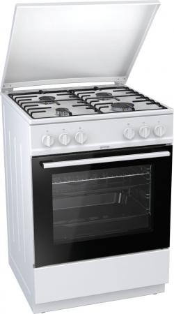 Газовая плита Gorenje G6111WH белый