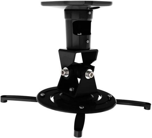 Кронштейн для проектора Cactus CS-VM-PR01-BK черный макс.10кг настенный и потолочный поворот и наклон серьги diva diva di006dwzgk63