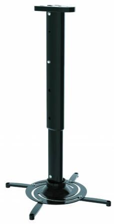 Кронштейн для проектора Cactus CS-VM-PR05L-BK черный макс10кг настенный и потолочный поворот и наклон