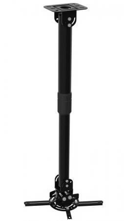 Фото - Кронштейн для проектора Cactus CS-VM-PR16L-BK черный макс.13.6кг настенный и потолочный поворот и наклон кронштейн для проектора cactus cs vm pr04 bk черный макс 21кг настенный и потолочный поворот и наклон