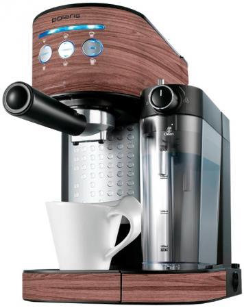 Кофеварка Polaris PCM 1523E 1350 Вт бордовый кофеварка polaris pcm 0210 черный салатовый