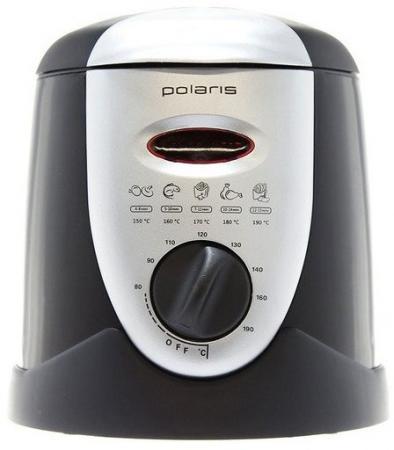 Фритюрница Polaris PDF 0901 серебристый чёрный увлажнитель воздуха polaris puh 3204 чёрный