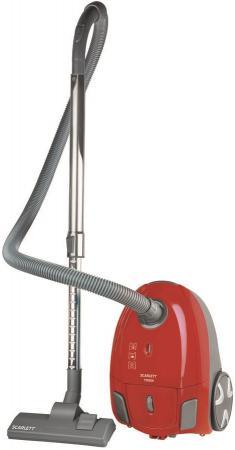Пылесос Scarlett SC-VC80B95 сухая уборка красный чёрный пылесос scarlett sc vc80b04 1500вт серый красный