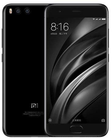 Смартфон Xiaomi Mi 6 черный 5.15 64 Гб NFC LTE Wi-Fi GPS 3G смартфон asus zenfone live zb501kl золотистый 5 32 гб lte wi fi gps 3g 90ak0072 m00140