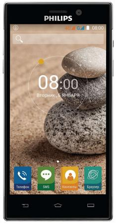 смартфон philips xenium v526 lte navy Смартфон Philips Xenium V787 черный 5 32 Гб LTE Wi-Fi GPS 3G