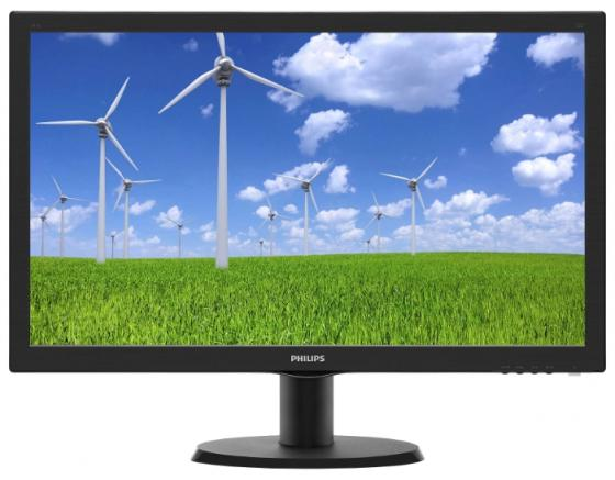 Монитор Philips 23.6 243S5LSB5 (00/01) черный TFT LED 5ms 16:9 DVI матовая 250cd 1920x1080 D-Sub FHD 3.41кг vaptio wall crawler throne tank 80w e cigarette vape tcr vapor starter kit 5ms fire time 1 3inch tft screen resistance 0 05 2ohm