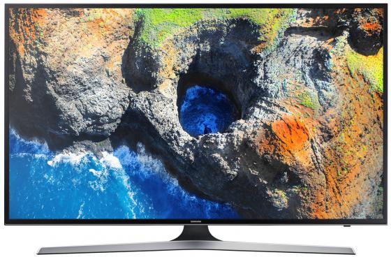 Телевизор 65 Samsung UE65MU6100UXRU черный 3840x2160 100 Гц Wi-Fi Smart TV RJ-45 Bluetooth телевизор led 65 lg oled65e6v серый 3840x2160 120 гц wi fi smart tv rj 45 bluetooth widi