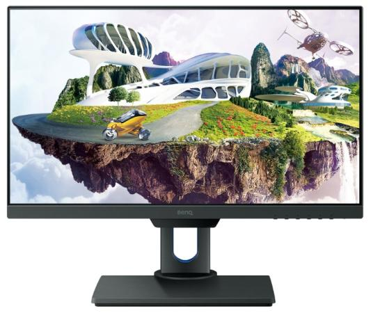 Монитор 25 BENQ PD2500Q черный cерый IPS 2560x1440 350 cd/m^2 14 ms DisplayPort Mini DisplayPort HDMI USB benq pd2500q black монитор