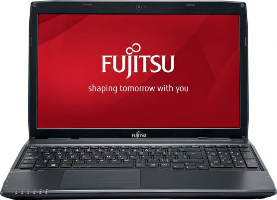 Ноутбук Fujitsu LifeBook A555 Core i3 5005U/4Gb/500Gb/DVD-RW/Intel HD Graphics/15.6/FWXGA (1366x768)/Windows 10 Home Multi Language 64/black/WiFi/BT/Cam/4500mAh ноутбук dell inspiron 3558 core i3 5005u 4gb 500gb dvd rw intel hd graphics 5500 15 6 hd 1366x768 windows 10 home 64 black wifi bt cam 2700mah