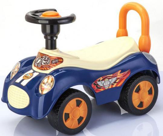 Каталка-машинка Shantou Gepai Вояж пластик от 3 лет с гудком синий EBL8203B каталка машинка r toys bentley пластик от 1 года музыкальная красный 326
