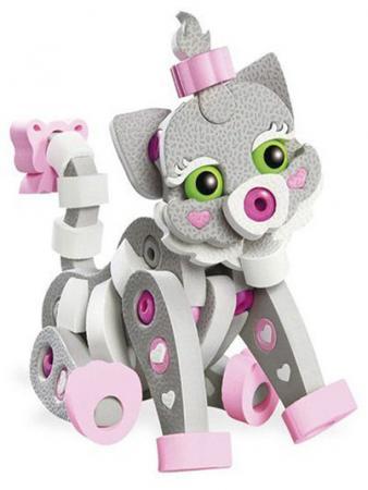 Купить Мягкий конструктор Soft Blocks Кошечка 64 элемента 3106, Мягкие конструкторы для детей