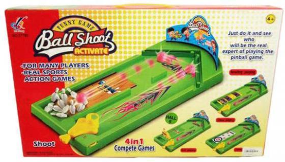 Настольная игра спортивная Shantou Gepai Меткие шары 631223 настольная игра спортивная shantou gepai боулинг 5777 23a