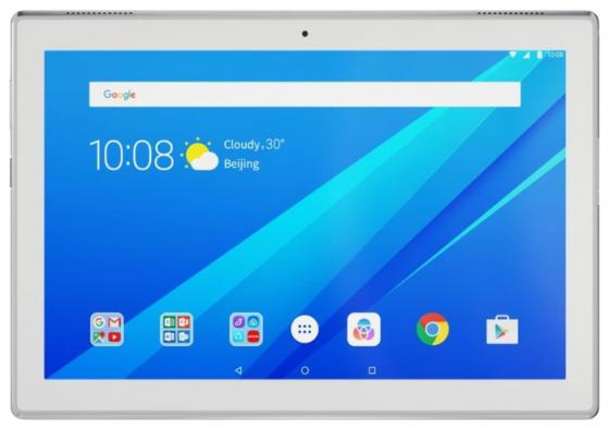 Планшет Lenovo Tab 4 TB-X304L 10.1 16Gb White Bluetooth LTE 3G Wi-Fi Android ZA2K0082RU huawei mediapad t1 lte 8 16gb [t1 821l ] 8 silver white 8 1280x800 16 гб wi fi bluetooth 3g 4g lte gps глонасс android 4 3