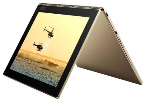 Планшет Lenovo Yoga Book YB1-X90F 10.1 64Gb Gold Wi-Fi Bluetooth Android ZA0V0085RU new replacement projecor lamp with housing et laf100 for panasonic pt f100nt pt f200 pt f200u pt f100 pt f300 pt fw430 pt fx400