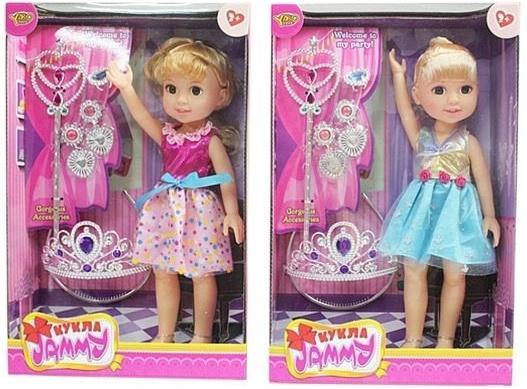 Кукла Shantou Gepai Джемми Красотка 32 см в ассортименте цена