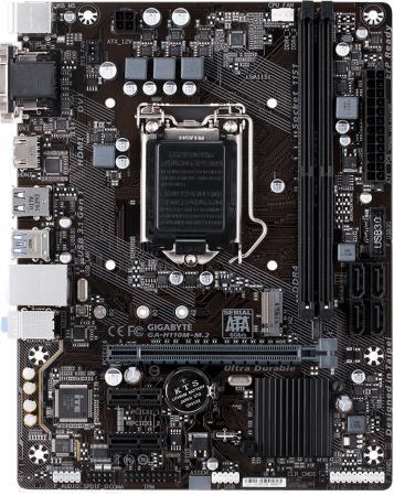 Материнская плата GigaByte GA-H110M-M.2 Socket 1151 H110 2xDDR4 1xPCI-E 16x 2xPCI-E 1x 4 mATX Retail материнская плата gigabyte ga h110m ds2 socket 1151 h110 2xddr4 1xpci e 16x 2xpci e 1x 4 matx retail