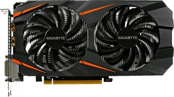 Видеокарта 3072Mb Gigabyte GeForce GTX1060 PCI-E 192bit GDDR5 DVI HDMI DP HDCP GV-N1060WF2OC-3GD-MI OEM видеокарта gigabyte pci e gv n710sl 1gl nvidia