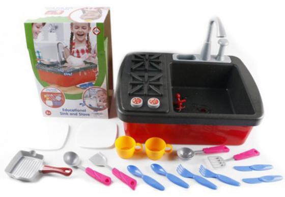 Набор Shantou Gepai Раковина с конфорками и посудой shantou набор дельфин и морской конек 3302b gepai