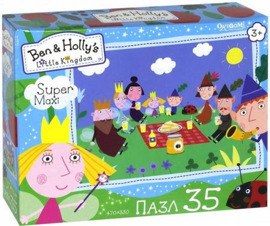 Пазл 35 элементов ОРИГАМИ Бен и Холли Пикник пазл оригами бен и холли маленькие истории 9 16 25 36 элементов