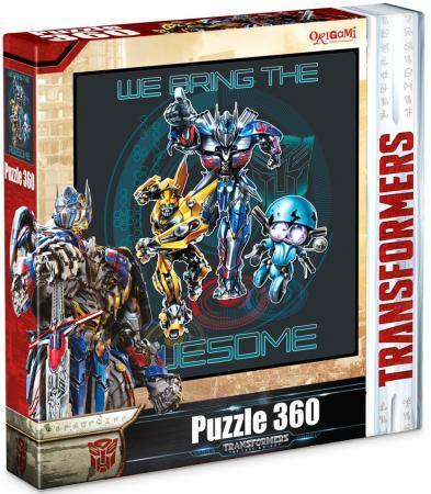 Пазл 360 элементов ОРИГАМИ 360А Transformers пазл оригами арт терапия кошка 360 элементов