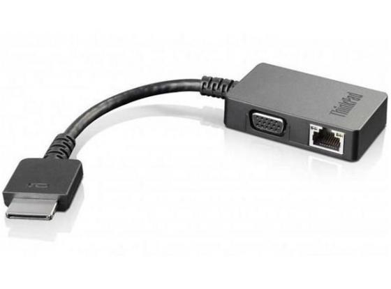 Переходник Lenovo ThinkPad OneLink+ to VGA/RJ45 4X90J31060 28wh new laptop battery for lenovo thinkpad x1 helix tablet pc 45n1100 45n1101 41cp3 71 90
