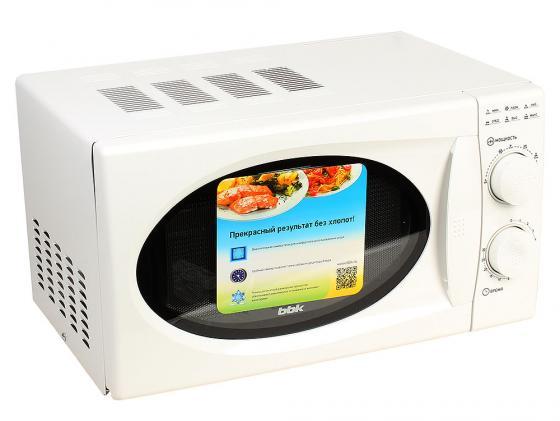 лучшая цена Микроволновая печь BBK 20MWS-803M/W 800 Вт белый