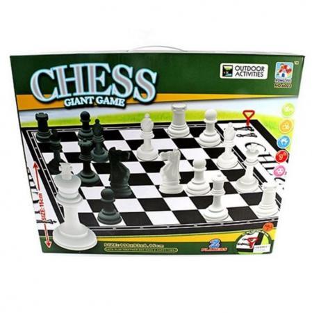 Напольная игра шахматы Shantou Gepai Шахматы 6023 дорожные шахматы
