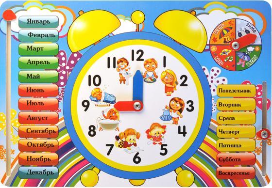 Развивающая игрушка ТИМБЕРГРУПП Часы IG0014 бизиборд мастер игрушек развивающая игрушка часы ig0014