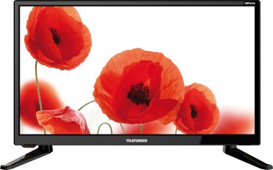 Телевизор 19 Telefunken TF-LED19S64T2 черный 1366x768 50 Гц USB HDMI VGA S/PDIF телевизор led 32 telefunken tf led32s61t2 черный 1366x768 50 гц usb scart vga