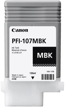 Картридж Cactus CS-PFI107MBK для Canon IP iPF670/iPF680/iPF685/iPF770/iPF780/iPF785 черный матовый