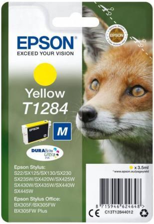 Картридж Epson C13T12844012 для Epson S22/SX125 желтый