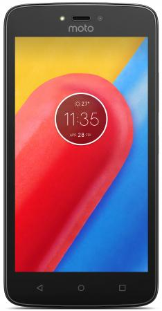 Смартфон Motorola Moto C черный 5 8 Гб Wi-Fi GPS 3G XT1750 PA6J0030RU смартфон zte blade v8c черный 5 32 гб lte wi fi gps 3g bladev8cblack