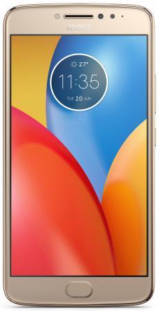 Смартфон Motorola Moto E4 Plus золотистый 5.5 16 Гб LTE Wi-Fi GPS 3G XT1771 PA700073RU смартфон micromax q334 canvas magnus черный 5 4 гб wi fi gps 3g
