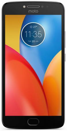 Смартфон Motorola Moto E4 Plus серый 5.5 16 Гб LTE Wi-Fi GPS 3G XT1771 PA700074RU смартфон motorola moto e plus xt1771 16gb серый pa700074ru