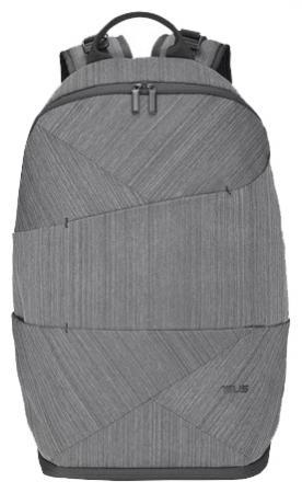 Рюкзак для ноутбука 17 ASUS Artemis BP270 нейлон резина серый 90XB0410-BBP010 рюкзак для ноутбука 17 asus rog ranger 2 in 1 нейлон резина черный