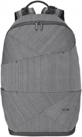 Рюкзак для ноутбука 14 ASUS 90XB0410-BBP000 нейлон резина черный рюкзак asus 16 0 triton black 90xb03p0 bbp000