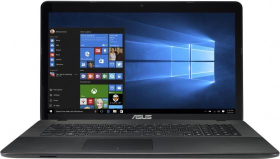 Ноутбук ASUS X751NA-TY003T 17.3 1600x900 Intel Pentium-N4200 1Tb 4Gb Intel HD Graphics 505 черный Windows 10 Home 90NB0EA1-M00850 asus x552wa 90nb06qb m00850