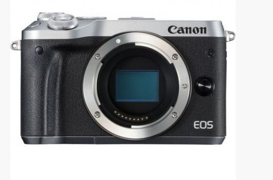 Фотоаппарат Canon EOS M6 24.2Mpix 3 1080p WiFi LP-E17 черный/серебристый 1725C002 ismartdigi lp e6 7 4v 1800mah lithium battery for canon eos 60d eos 5d mark ii eos 7d