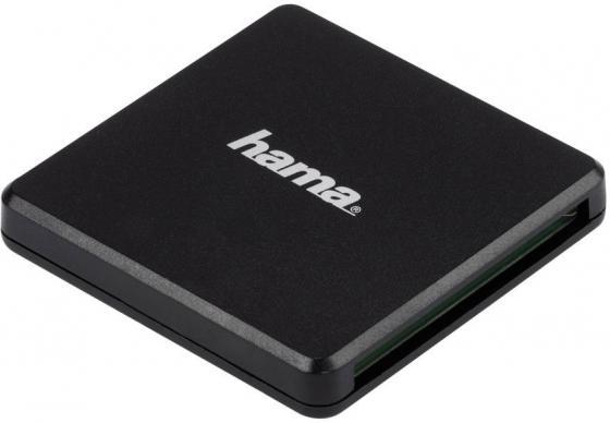 Фото - Картридер внешний Hama Multi H-124022 USB3.0 черный 00124022 картридер внешний hama h 123900 usb3 0 серебристый 00123900