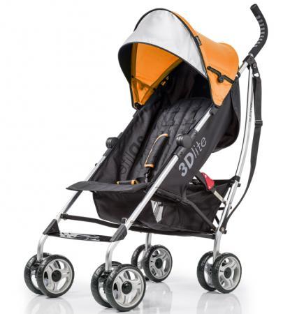 Фото - Коляска прогулочная Summer Infant 3D Lite Stroller (orange) коляска прогулочная everflo safari grey e 230 luxe