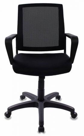 Кресло Бюрократ CH-498/BL/TW-11 черный кресло компьютерное бюрократ бюрократ ch 899sl tw 11 черный хром