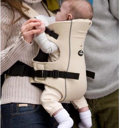 Рюкзак-переноска для детей Clippasafe Carramio (бежевый)