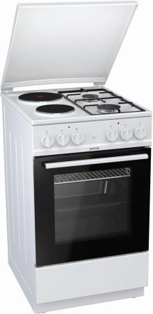 Комбинированная плита Gorenje K5111WG белый комбинированная плита smeg tr 4110 ro