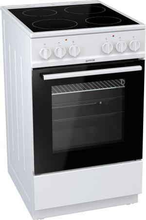 Электрическая плита Gorenje EC5113WG белый плита электрическая gorenje ec5121wf белый