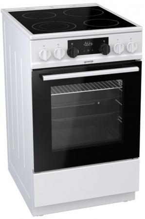 Электрическая плита Gorenje EC5341WC белый candino elegance c4535 3